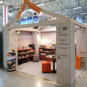 Wooden Exhibition Stands