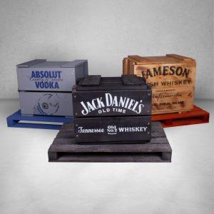 Jack Daniels koka kastes
