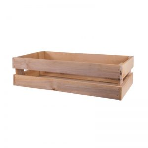 L-Fruit-vidēji liela koka kaste