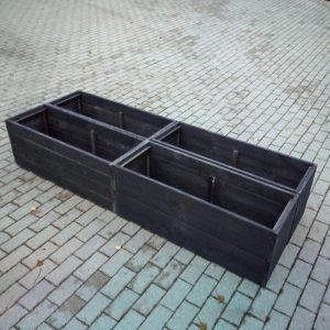 Puķu kastes no koka