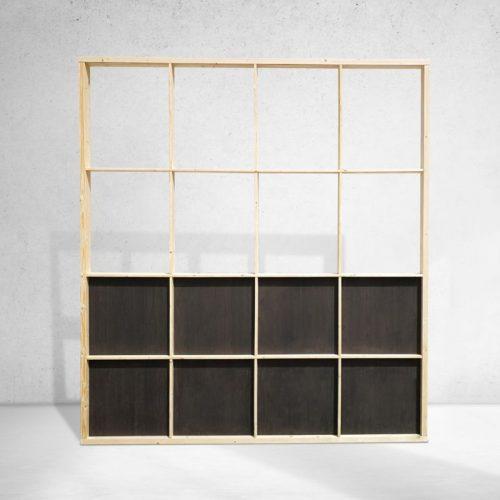 Modular wooden frames