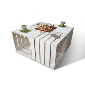 Saliekams terases galds