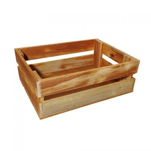 S-Fruit -maza izmēra koka kaste