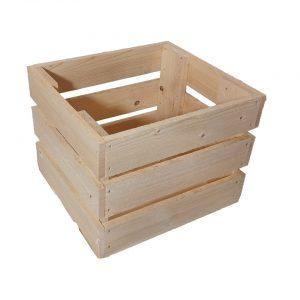 S-furniture maza izmēra koka kaste mēbelēm