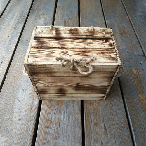 Koka dāvanu kastes
