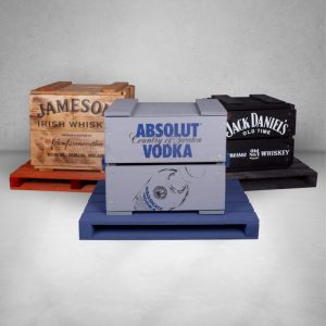 Absolut Vodka Koka kastes