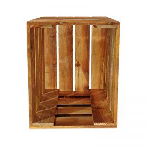 M-furniture –vidēja izmēra koka kaste mēbelēm