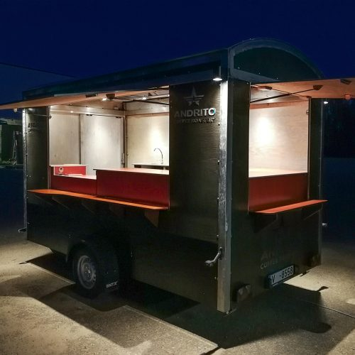 Mobile cafe – trailer