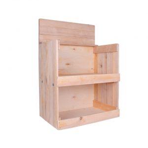 Tischdisplays aus Holz