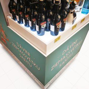 Modular alcohol stand