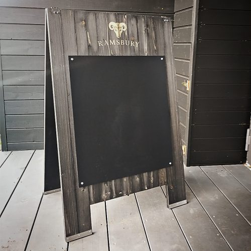 Menu boards for bars