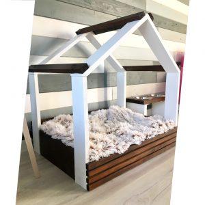 Koka gultiņas suņiem