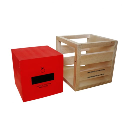 Exclusive wooden packaging